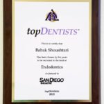 San Diego Top Dentist 2015