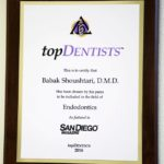 San Diego Top Dentist 2016