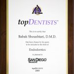 San Diego Top Dentist 2018